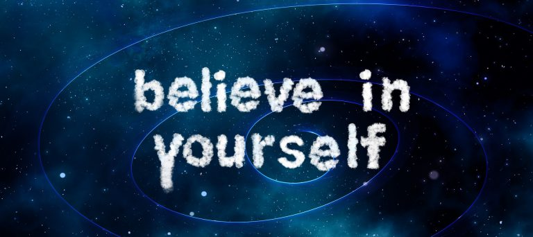 believing in yourself is a huge part of improving your brain power