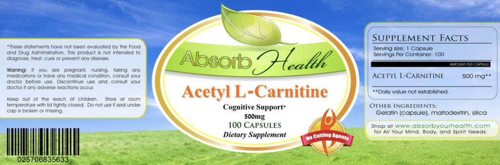 How acetyl-l-carnitine works