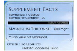 Magnesium Threonate Review
