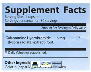 Galantamine side effects and customer reviews