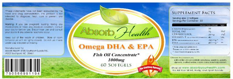 Omega 3 DHA & EPA Review