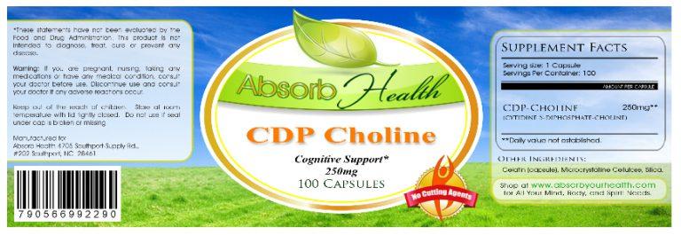 best cdp choline supplement