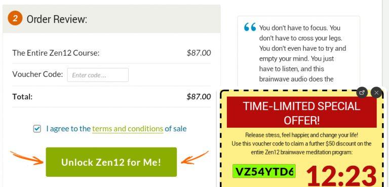 zen 12 discount code