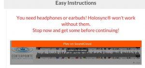 holosync free demo