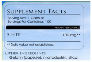 5 htp dosage