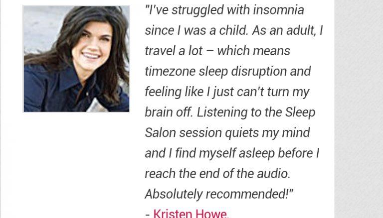 sleep salon user experience