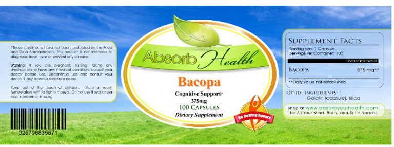 Bacopa Monnieri supplement