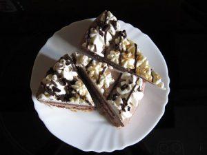 sugary cake