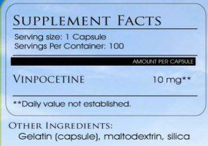 vinpocetine dosage