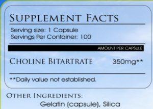 Choline Birtarte Side Effects