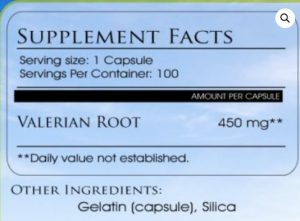 Valerian Root Anxiety Dosage
