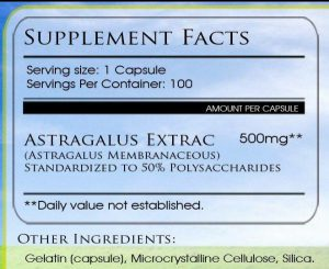 Astragalus Review dosage