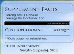 Centrophenoxine Reviews