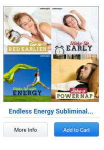 Subliminal Messages For Deep Sleep endless energy subliminal bundle