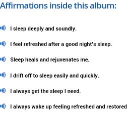 deep sleep affirmations
