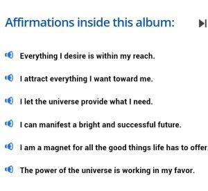 Subliminal Messages for the Law of Attraction
