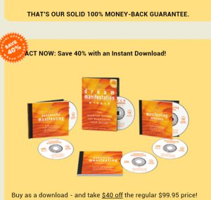 dream manifesto cost free downloads and discounts