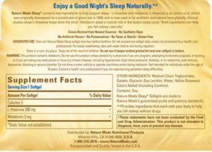 Nature Made Natural Sleep Aid Reviews