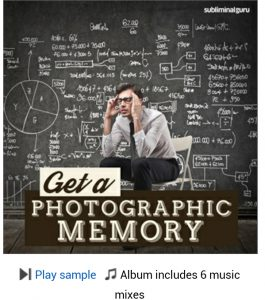 Best Subliminal Messages for Memory