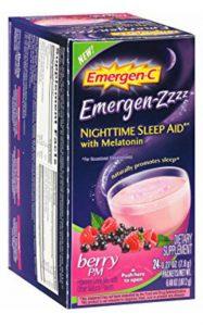 Emergen Zzzz Nighttime Sleep Aid review