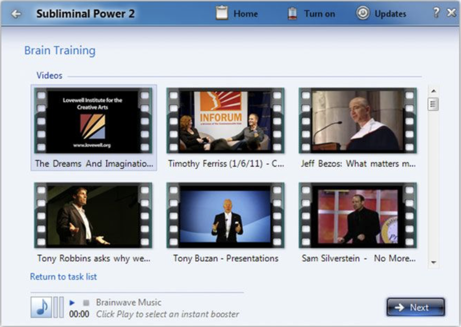 subliminal power 2 software